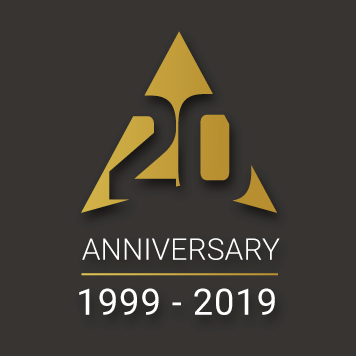 Northstar IT 20th Anniversary logo