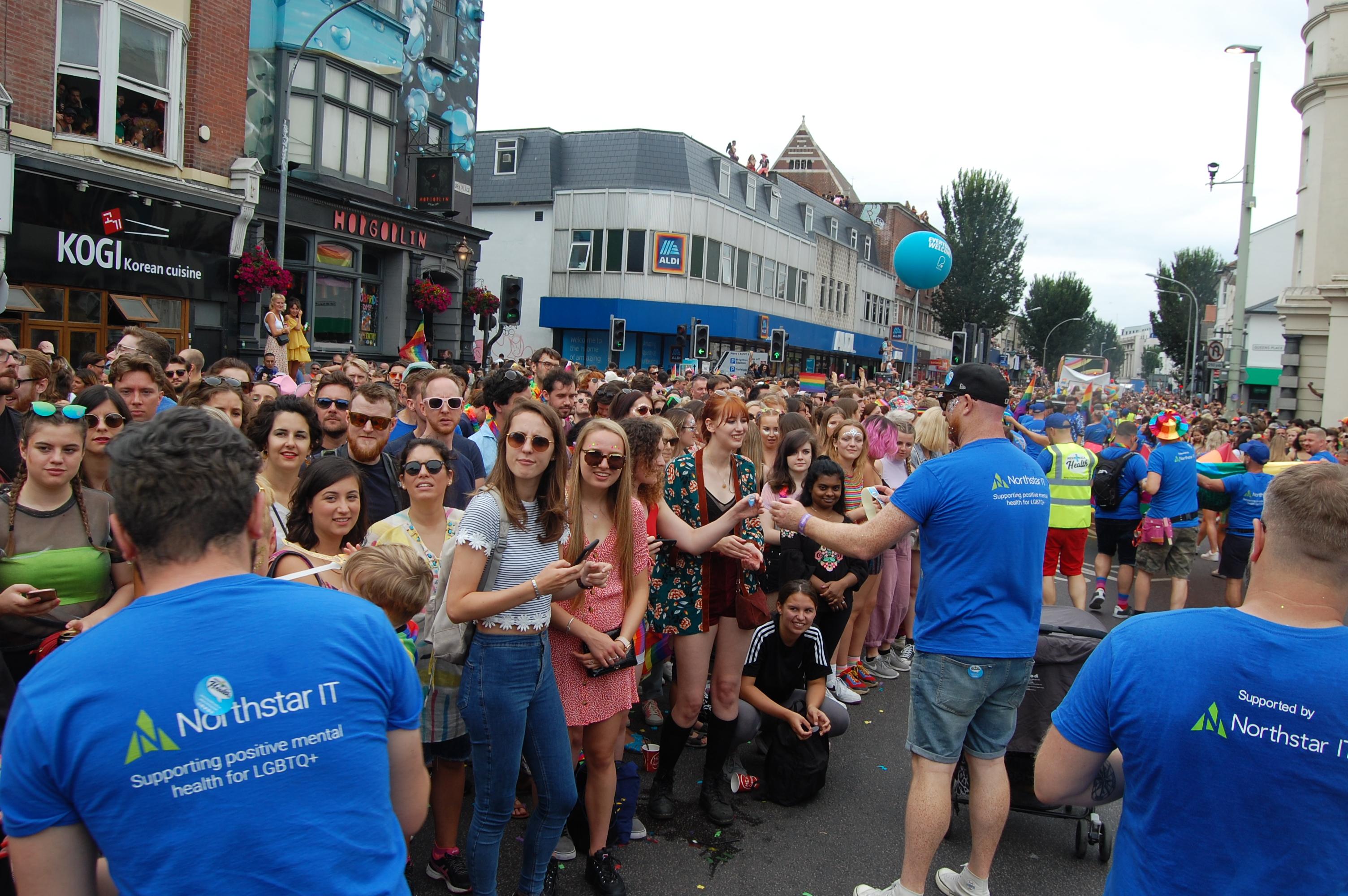Brighton Pride Parade MTH 2019