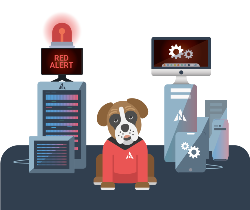 Harvey on red alert, guarding your data